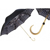 Pasotti Black with Precious Interior Women's Umbrella