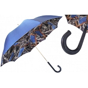 Pasotti Navy with Bridles Print Women's Umbrella