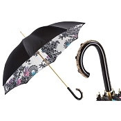 Pasotti Black Beautiful Lady Women's Classic Umbrella