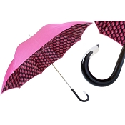 Pasotti Fuchsia Provacative Print Women's Umbrella