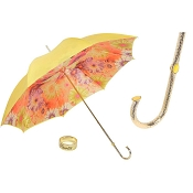 Pasotti Yellow Color Sunflowers Flowered Women's Umbrella