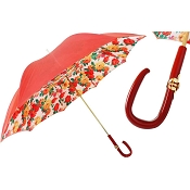 Pasotti Red Summer Style Flowers Women's Umbrella