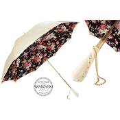 Pasotti Ivory Vintage Flowered Women's Umbrella