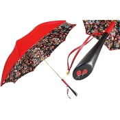 Pasotti Ladybug Red Flowered Women's Umbrella