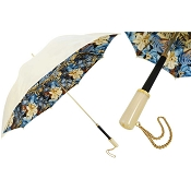 Pasotti Ivory White Jungle Flowers Women's Umbrella