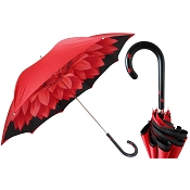 Pasotti Red Ladybug Flowers Women's Umbrella