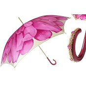 Pasotti Fuchsia Dahlia Flowered Women's Umbrella