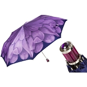 Pasotti Gorgeous Purple Flower Women's Folding Umbrella