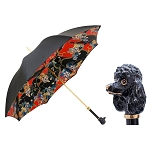 Pasotti Black Poodle Women's Luxury Umbrella
