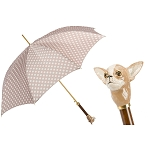 Pasotti Chihuahua with Dots Luxury Women's Umbrella