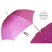 Pasotti Ombrelli Pink Swarovski® Luxury Women's Umbrella