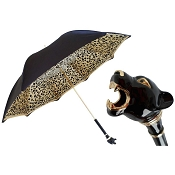 Pasotti Ombrelli Black Panther Luxury Women's Umbrella
