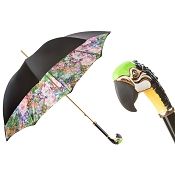 Pasotti Ombrelli Parrot Luxury Women's Umbrella