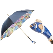 Pasotti Ombrelli Blue Nemo Luxury Women's Umbrella