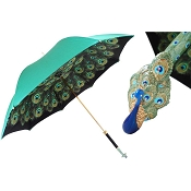 Pasotti Ombrelli Luxury Peacock Women's Umbrella