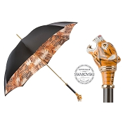Pasotti Ombrelli Siberian Tiger Luxury Women's Umbrella