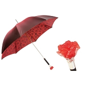 Pasotti Ombrelli Red Amore Romance Rosa Luxury Women's Umbrella