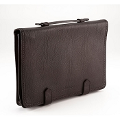 Pineider 1774 Leather Underarm Portfolio Briefcase