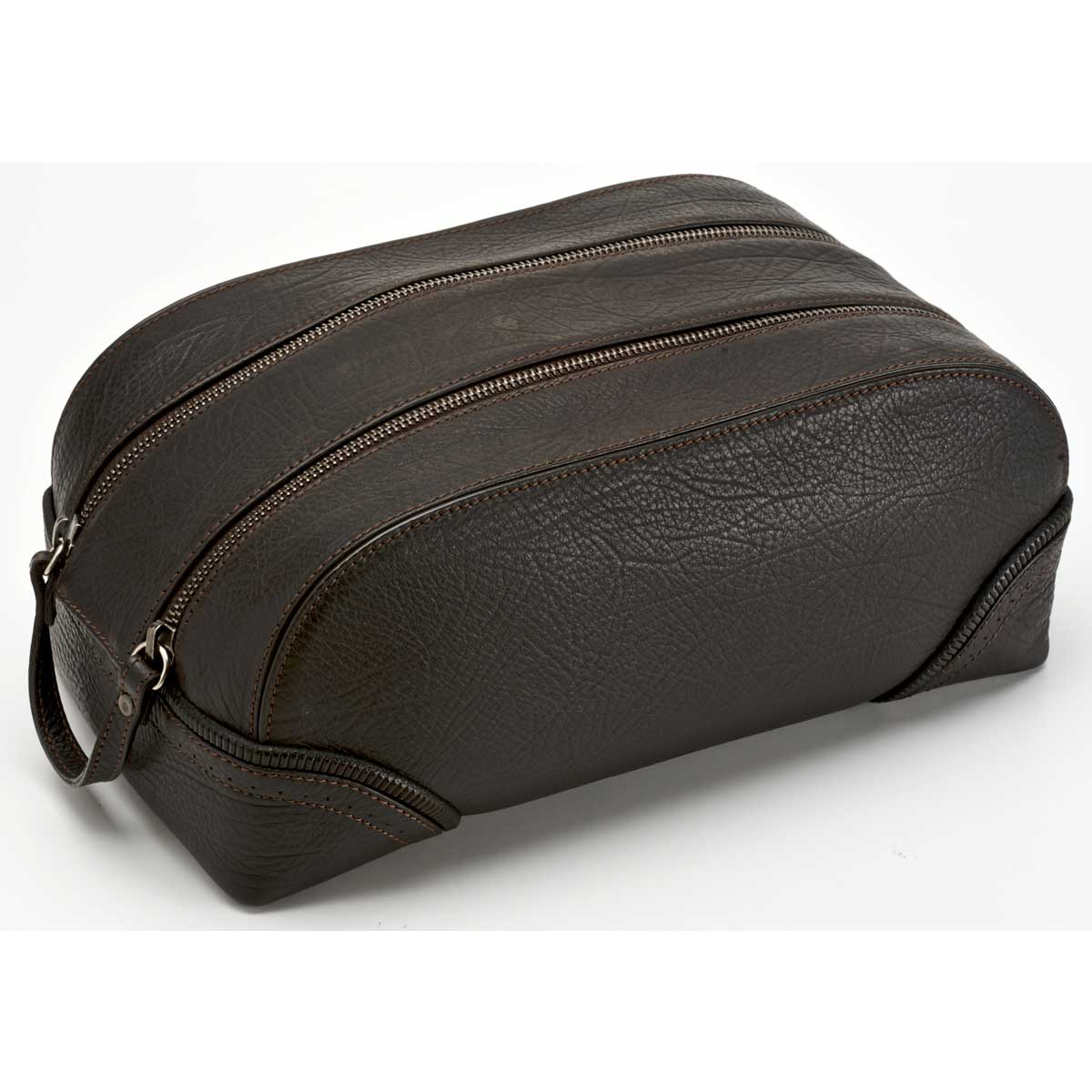 Pineider 1774 Leather Travel Toiletry Bag - Large