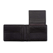 Pineider 1774 Leather Wallet - Flap - Extra Credit Card Slots