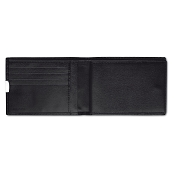 Pineider 1949 Leather Men's Bi-fold Wallet with Check Holder
