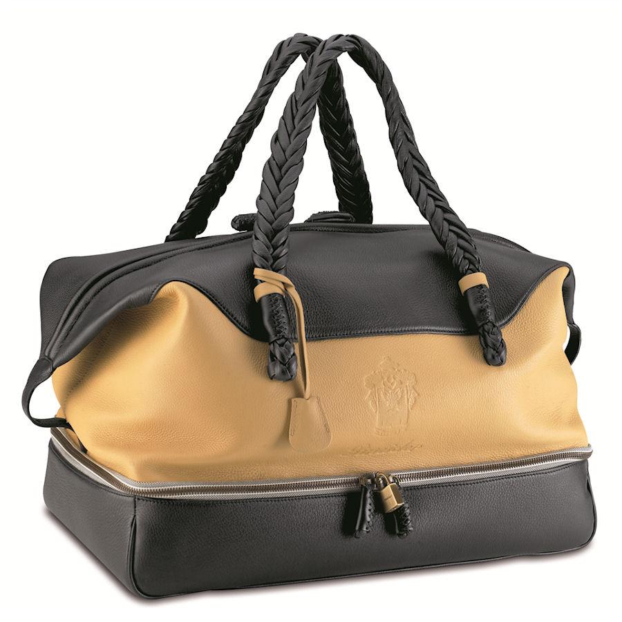 Pineider Cervinia Deerskin Leather Women's Travel Bag