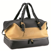 Pineider Cervinia Deerskin Leather Women's Travel Bag