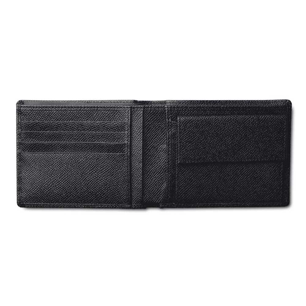 Pineider City Chic Leather Men S Bifold Wallet With Coin
