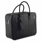 Pineider City Chic Leather Briefcase Bag - 48 Hours
