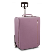 Pineider City Chic Leather Luggage Trolley Bag