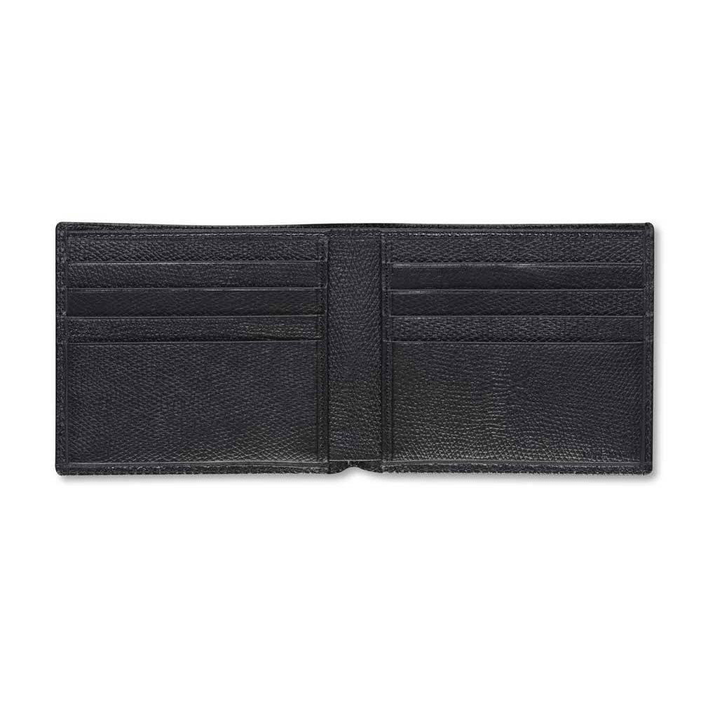 Pineider City Chic Leather Men's Bifold Wallet - Small