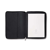 Pineider City Chic Leather A4 Zip Around Notepad Holder