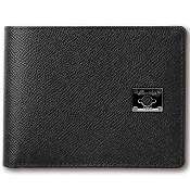 Pineider City Chic Leather Men's Bifold Calfskin Wallet