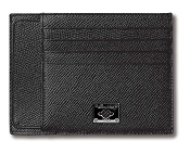 Pineider City Chic Leather Multi-Card Holder Calfskin Wallet