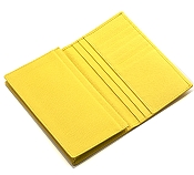 Pineider City Chic Yellow Leather Yen Holder