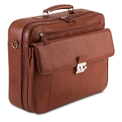 Pineider Country Leather Travel Briefcase - 48 Hours Bag