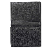 Pineider Country Leather Business Card Case with Flap