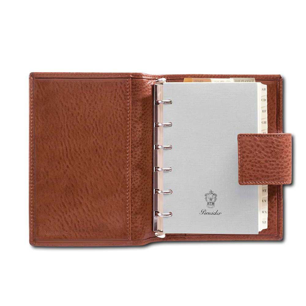 Pineider Country Leather Organizer Small