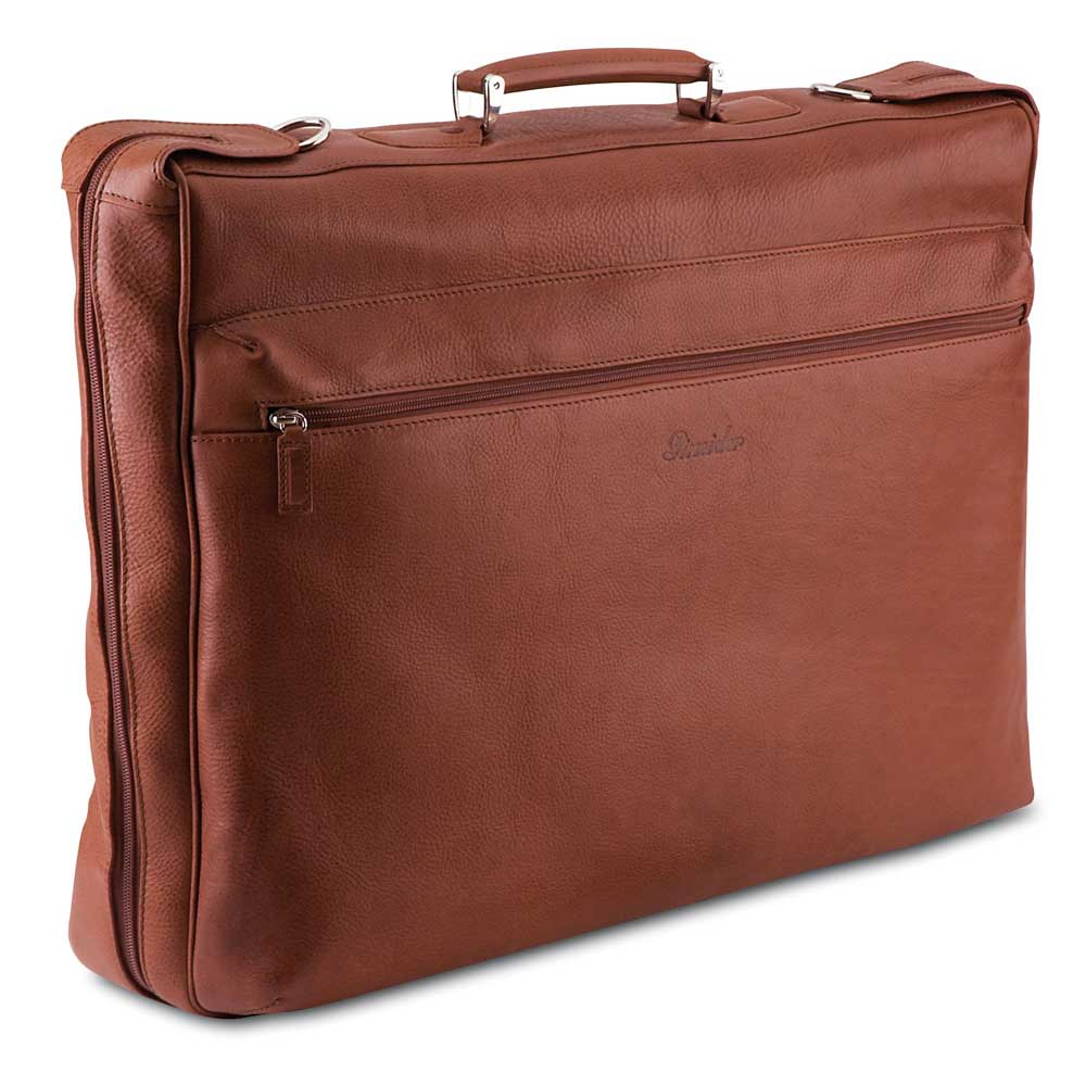 Pineider Country Leather Travel Garment Bag