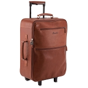 Pineider Country Leather Trolley Luggage Bag