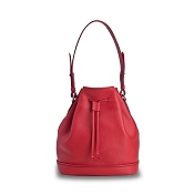 Pineider Country Leather Bucket Bag