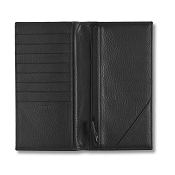 Pineider Country Leather Travel Document Holder Wallet