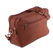 Pineider Country Leather Reporter Bag
