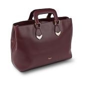 Pineider Heritage Leather Handbag