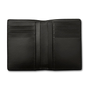 Pineider Milano Leather Vertical Mens Coat Wallet