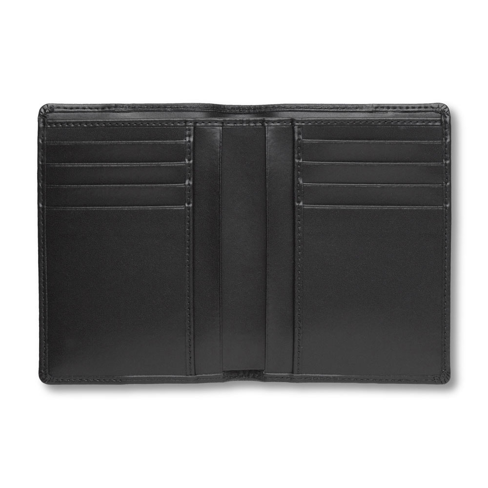 Pineider Milano 2012 Leather Bifold Vertical Mens Coat Wallet
