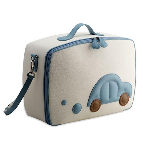 Pineider Baby Travel Bag - Light Blue | Boys