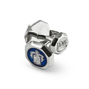 Pineider 1949 Sterling Silver Cufflinks with Crest