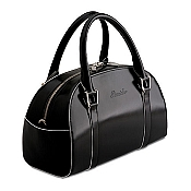 Pineider Optical Leather Women's Little Daily Bag