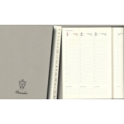 Pineider Diary Refill cm 17x24 - Weekly